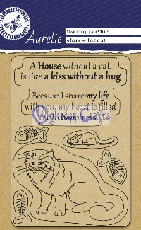 A house without a cat Stamps