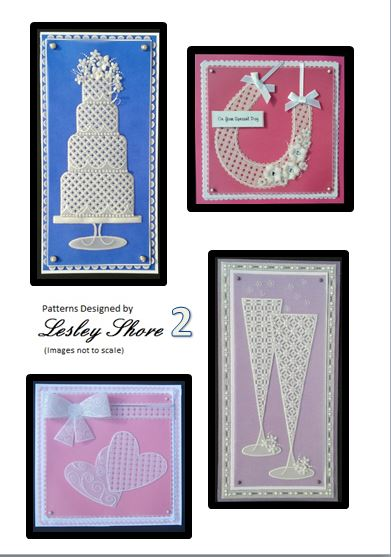 Pattern pack 2 weddings by Lesley Shore