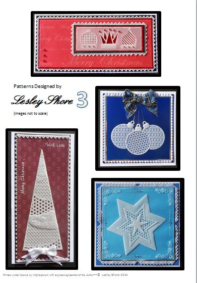 Lesley Shore pattern pack 3 Christmas
