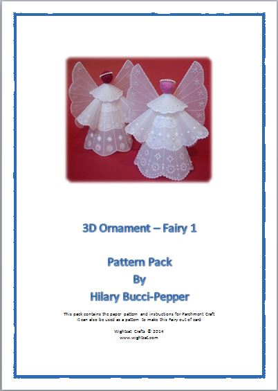 3D Ornament Fairy, Hilary Bucci-Pepper