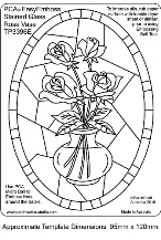 TP3396E-Stained-Glass-Rose-Vase