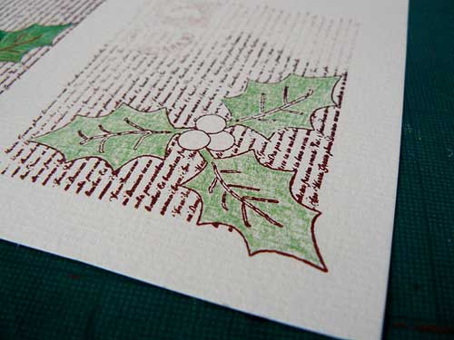 stamping holly